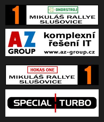 Plates Mikuláš Rally Slušovice 2013